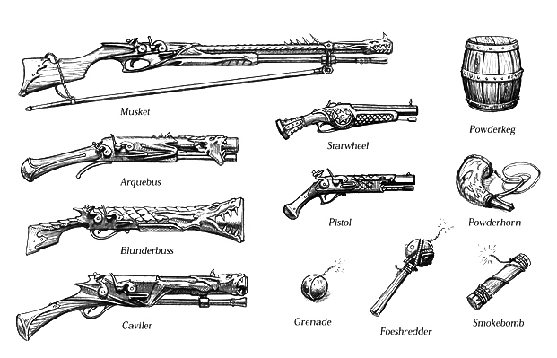 5e Firearms Of The Realms Gm Binder