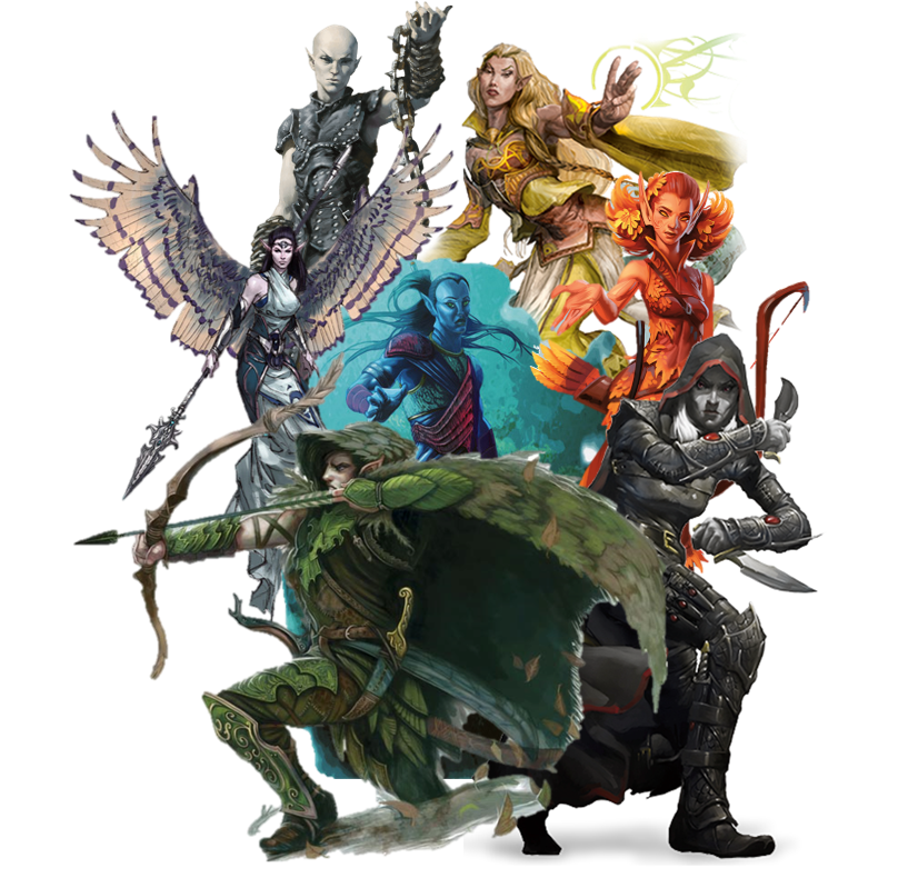 Races Of Dungeons And Dragons Gm Binder D&d nolzurs marvelous unpainted miniatures: races of dungeons and dragons gm binder