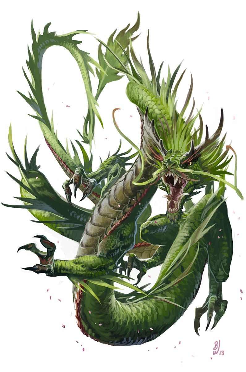 Forest Dragon | GM Binder