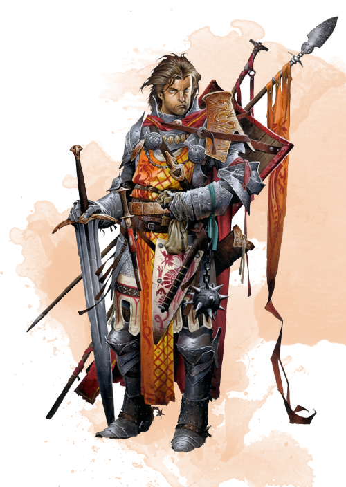 Compendium | 1 - Civilization | Revised Banneret (Fighter